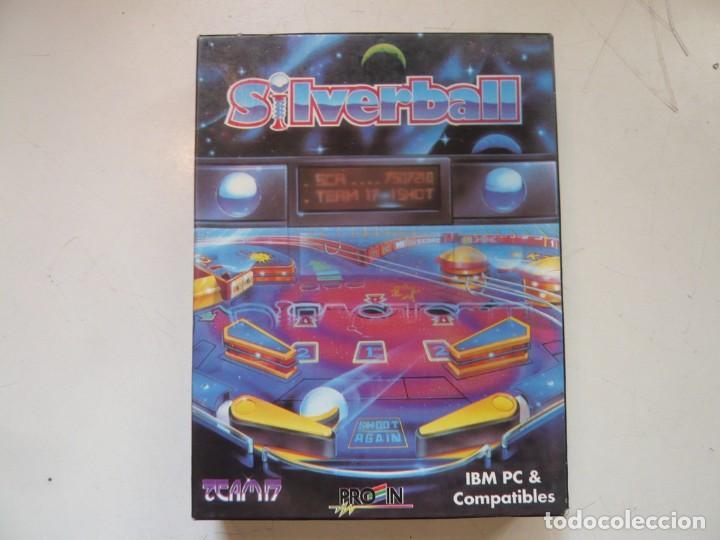 SILVERBALL - PINBALL / IBM PC / RETRO VINTAGE / DISKETTES (Juguetes - Videojuegos y Consolas - PC)