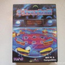 Videojuegos y Consolas: SILVERBALL - PINBALL / IBM PC / RETRO VINTAGE / DISKETTES. Lote 288152278