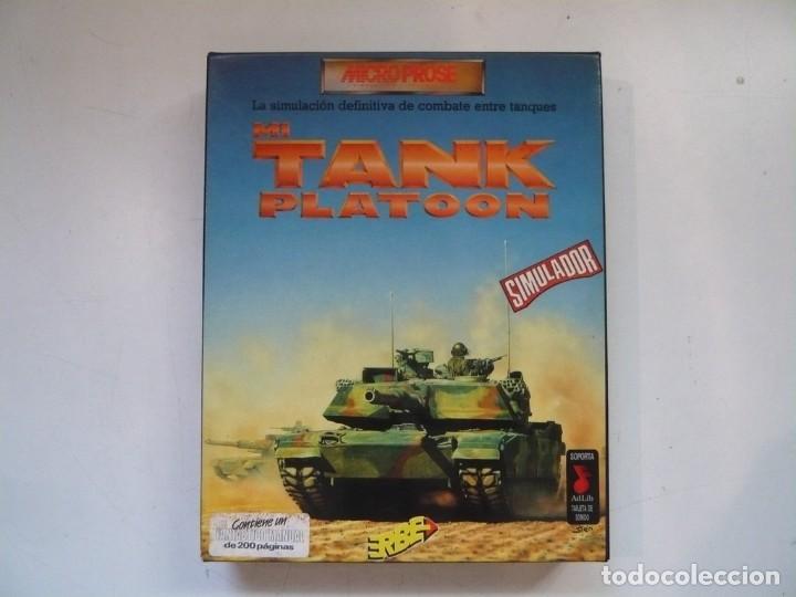M1 TANK PLATOON / IBM PC / RETRO VINTAGE / DISKETTES (Juguetes - Videojuegos y Consolas - PC)