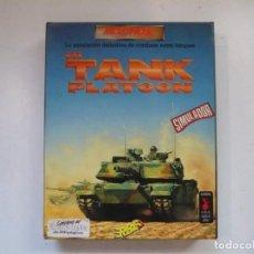 Videojuegos y Consolas: M1 TANK PLATOON / IBM PC / RETRO VINTAGE / DISKETTES. Lote 288153053