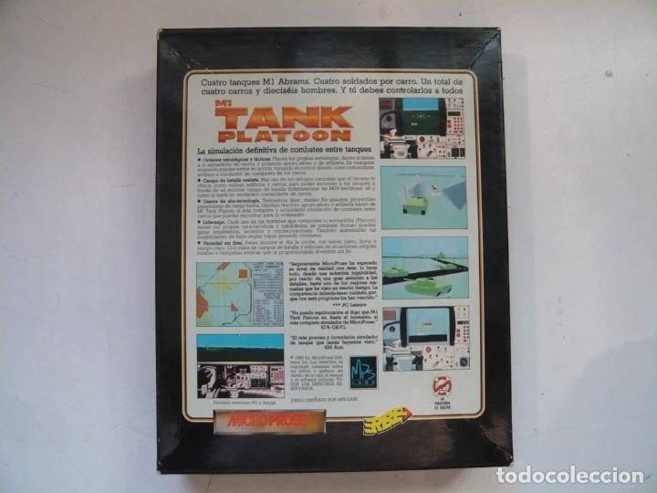 Videojuegos y Consolas: M1 TANK Platoon / IBM PC / RETRO VINTAGE / Diskettes - Foto 2 - 288153053