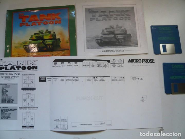 Videojuegos y Consolas: M1 TANK Platoon / IBM PC / RETRO VINTAGE / Diskettes - Foto 3 - 288153053