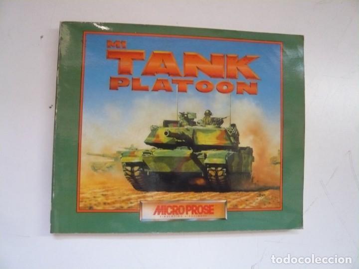 Videojuegos y Consolas: M1 TANK Platoon / IBM PC / RETRO VINTAGE / Diskettes - Foto 4 - 288153053