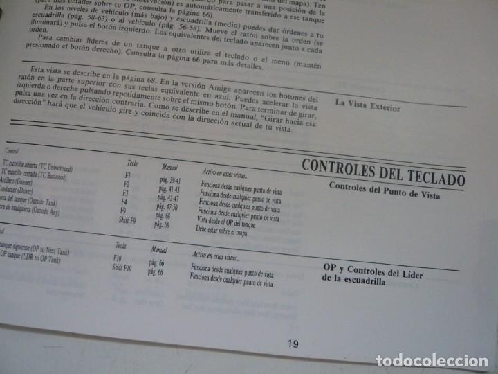 Videojuegos y Consolas: M1 TANK Platoon / IBM PC / RETRO VINTAGE / Diskettes - Foto 7 - 288153053