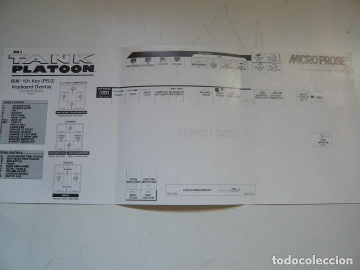 Videojuegos y Consolas: M1 TANK Platoon / IBM PC / RETRO VINTAGE / Diskettes - Foto 8 - 288153053