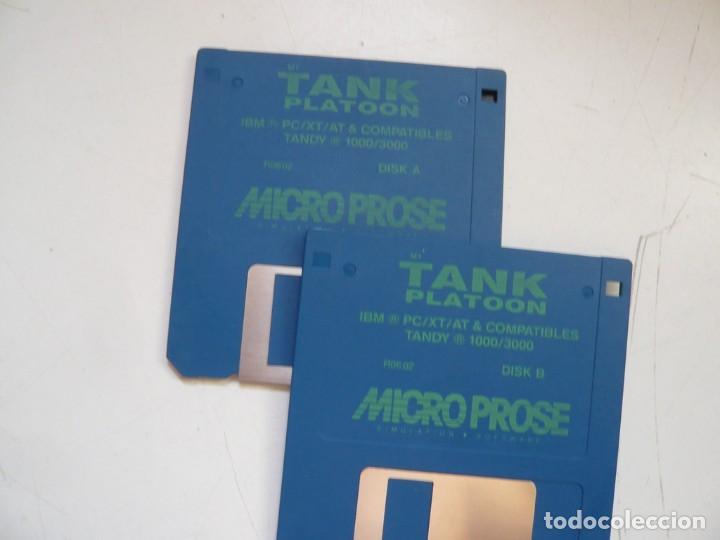 Videojuegos y Consolas: M1 TANK Platoon / IBM PC / RETRO VINTAGE / Diskettes - Foto 9 - 288153053