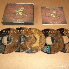 Videojuegos y Consolas: RIVEN , JUEGO PARA PC. Lote 288192598