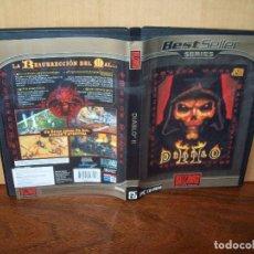 Videojuegos y Consolas: DIABLO II LA RESURRECCION DEL MAL - JUEGO PC 3 CDS CON MANUAL DE INSTRUCCIONES. Lote 288471158