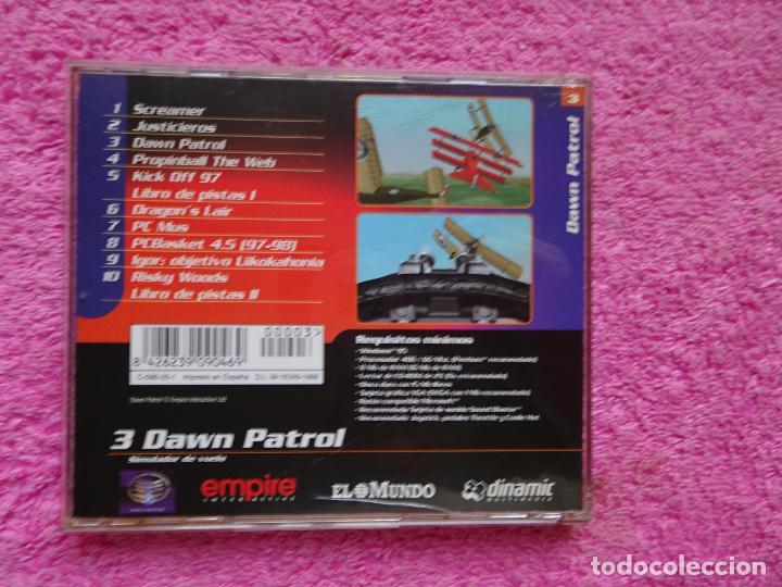 Videojuegos y Consolas: dawn patrol simulador de vuelo video juegos para pc 3 colección el mundo 1998 - Foto 5 - 288507098