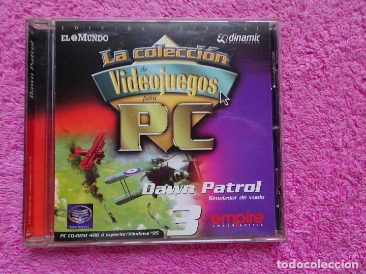 DAWN PATROL SIMULADOR DE VUELO VIDEO JUEGOS PARA PC 3 COLECCIÓN EL MUNDO 1998 (Juguetes - Videojuegos y Consolas - PC)