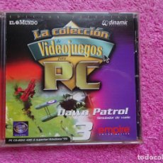Videojuegos y Consolas: DAWN PATROL SIMULADOR DE VUELO VIDEO JUEGOS PARA PC 3 COLECCIÓN EL MUNDO 1998. Lote 288507098