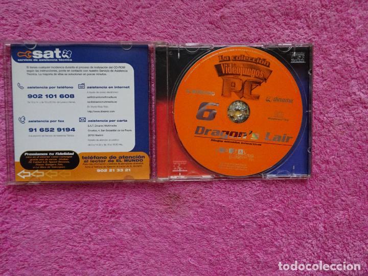 Videojuegos y Consolas: dragons lair dibujos animados interactivos video juegos para pc 6 colección el mundo 1998 - Foto 2 - 288532238