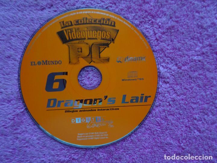 Videojuegos y Consolas: dragons lair dibujos animados interactivos video juegos para pc 6 colección el mundo 1998 - Foto 3 - 288532238