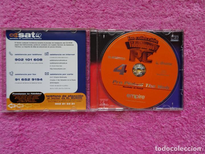 Videojuegos y Consolas: pro pinball the web simulador de pinball video juegos para pc 4 colección el mundo 1998 - Foto 2 - 288532928