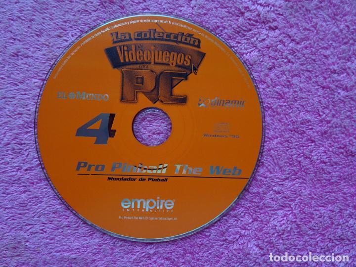 Videojuegos y Consolas: pro pinball the web simulador de pinball video juegos para pc 4 colección el mundo 1998 - Foto 3 - 288532928