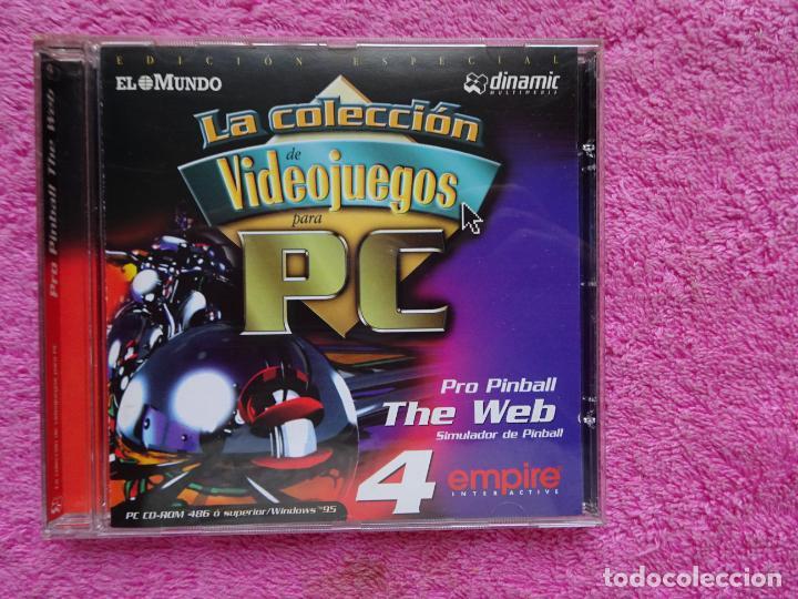 PRO PINBALL THE WEB SIMULADOR DE PINBALL VIDEO JUEGOS PARA PC 4 COLECCIÓN EL MUNDO 1998 (Juguetes - Videojuegos y Consolas - PC)