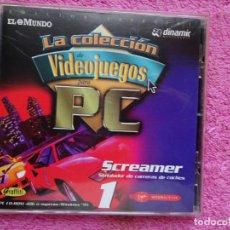 Videojuegos y Consolas: SCREAMER SIMULADOR DE CARRERAS VIDEO JUEGOS PARA PC CVIDEO JUEGOS PARA PC 1 COLECCIÓN EL MUNDO 1998. Lote 288534768