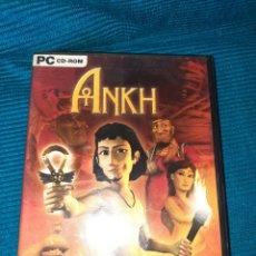 Videojuegos y Consolas: THE ANKH, PC CD-ROM EN ESPAÑOL, INCLUYE MANUAL DE JUEGO. Lote 288576758