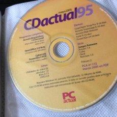 Jeux Vidéo et Consoles: CD ACTUAL MAYO 1995 WINDOWS 95 - PC CD DVD REVISTA KREATEN DEMO. Lote 288716628