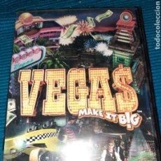 Videojuegos y Consolas: PC CD-ROM VEGAS, MAKE IT BIG, ESPAÑOL. Lote 289521468