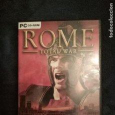 Videojuegos y Consolas: ROME TOTAL WAR PC CD-ROM. Lote 289620168