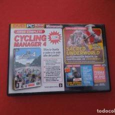 Videojuegos y Consolas: MICROMANIA Nº 140- CICLING MANAGER 4 - DVD PC. Lote 289869638