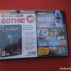 Videojuegos y Consolas: MICROMANIA Nº 142 - GOTHIC - DVD PC. Lote 289870283