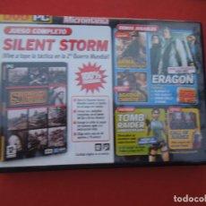 Videojuegos y Consolas: MICROMANIA Nº 145- SILENT STORM DVD PC. Lote 289872633