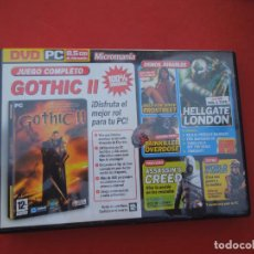 Videojuegos y Consolas: MICROMANIA Nº GOTHIC II - DVD PC. Lote 289873713