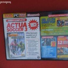 Videojuegos y Consolas: MICROMANIA Nº138 - ACTUA SOCCER 3 - DVD PC. Lote 289874618