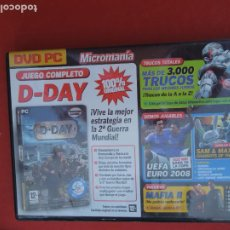 Videojuegos y Consolas: MICROMANIA Nº 160- D-DAY - DVD PC. Lote 289875878