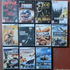 Videojuegos y Consolas: LOTE DE 11 JUEGOS ANTIGUOS PC. Lote 289904083