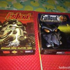 Videojogos e Consolas: FALLOUT AND FALLOUT 2 - INTERPLAY - VERSION INGLESA - AÑO 1998 - 2 JUEGOS. Lote 292256793