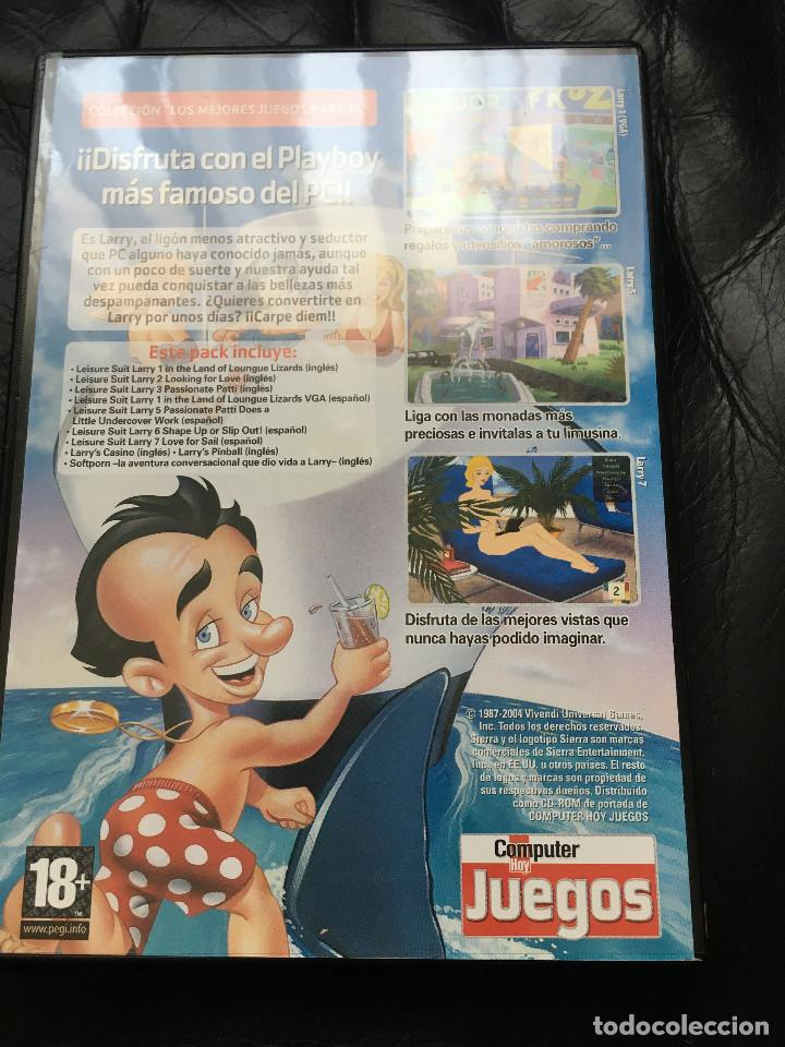 Videojuegos y Consolas: LEISURE SUIT LARRY COLLECTION - 8 JUEGOS PARA PC - Foto 2 - 293631093