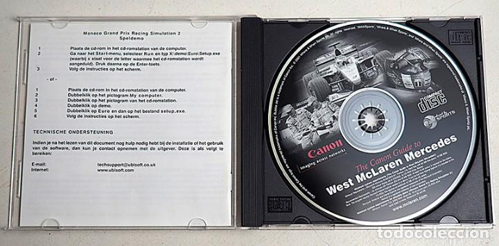Videojuegos y Consolas: CD-Rom Mónaco Grand Prix Racing Simulation 2. Versión Demo. - Foto 3 - 293632873