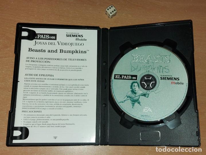 Videojuegos y Consolas: BEASTS BUMPINKS PC JOYAS WINDOWS 95 EA 1997 - Foto 3 - 293643178