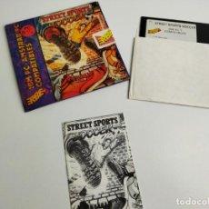 Videojuegos y Consolas: STREET SPORTS SOCCER - JUEGO IBM PC AMSTRAD PC COMPLETO CON INSTRUCCIONES - ERBE 1988 PC 5 1/4. Lote 293888143