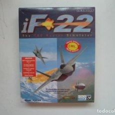Videojuegos y Consolas: IF-22 / CAJA DE CARTÓN - BIG BOX / IBM PC / RETRO VINTAGE / DISKETTES. Lote 295836128