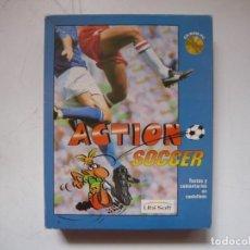 Videojuegos y Consolas: ACTION SOCCER / BIG BOX - CAJA CARTÓN / IBM PC / RETRO VINTAGE / DISKETTES. Lote 295836538