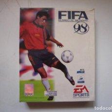Videojuegos y Consolas: FIFA 98 / BIG BOX - CAJA CARTÓN / IBM PC / RETRO VINTAGE / DISKETTES. Lote 295838653