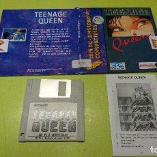 Videogiochi e Consoli: JUEGO PARA PC, 3 1/2, TEENAGE QUEEN , COMPATIBLE AMSTRAD. Lote 295988588