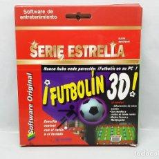 Videojuegos y Consolas: FUTBOLIN 3D - SERIE ESTRELLA - DATA BECKER MARCOMBO JUEGO WINDOWS PC. Lote 296069778