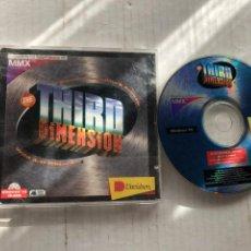 Videojuegos y Consolas: THE THIRD DIMESION WILD 3D OBJETCS MMX WINDOWS 95 CD ROM KREATEN PC OLDAPP. Lote 296579988