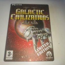 Videojuegos y Consolas: JUEGO PC GALACTIC CIVILIZATIONS II LIMITED EDITION EN CAJA DE METAL. Lote 296586468