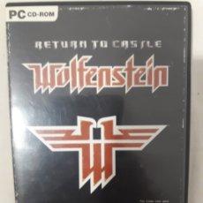 Videojuegos y Consolas: RETURN TO CASTLE WOLFENSTEIN PC. Lote 296689363