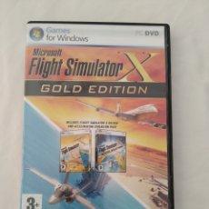 Videojuegos y Consolas: FLIGHT SIMULATOR X GOLD EDITION,PARA PC. Lote 296817038