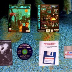 Videojuegos y Consolas: WETLANDS - JUEGO PC - CAJA GRANDE DE CARTON. Lote 24583179
