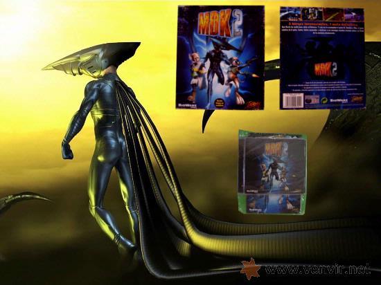 MDK 2 - PC - CAJA DE CARTON GRANDE - ¡¡NUEVO Y PRECINTADO (JUEGO Y MANUAL)!! (Juguetes - Videojuegos y Consolas - PC)