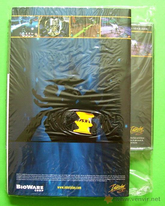 Videojuegos y Consolas: MDK 2 - PC - CAJA DE CARTON GRANDE - ¡¡NUEVO Y PRECINTADO (JUEGO Y MANUAL)!! - Foto 4 - 24583174