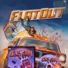 Videojuegos y Consolas: FLAT OUT - JUEGO PARA PC - COLECCIÓN MICROMANÍA Nº 35 . Lote 24582837